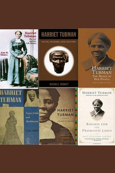 Although there have been scores of children's books published on Harriet Tubman, there are few full scale biographies for adults. The first book about Tubman was published in 1869 with the assist Harriet Tubman, American Civil War, Book Publishing, Book Lovers, Childrens Books, Good Books, The Book, Financial Assistance, Biographies
