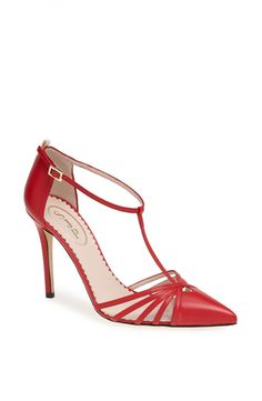 Pin for Later: SJP Is Giving Us Major Carrie Bradshaw Flashbacks With Her Fall Shoes Carrie in Red, $355