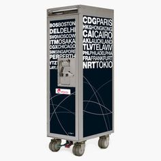 Air Berlin Ed. Airport Trolley now featured on Fab. FOR YOUR HOME!!!!