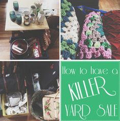 tips for a good yard sale