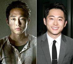The Walking Dead Cast: What They Look Like on the Red Carpet: Steven Yeun