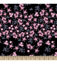 """Disney® Mickey Mouse Cotton Fabric 43""""-Floral"""