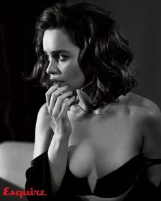 Emilia Clarke Named Sexiest Woman Alive By 'Esquire' - See Her Sexy Photos!: Photo Emilia Clarke bares her body while being named Sexiest Woman Alive by Esquire magazine for their November 2015 issue, on newsstands October Here's what the… Emilia Clarke Sexy, Emillia Clark, Scarlett Johansson, Emilia Clarke Daenerys Targaryen, Game Of Thrones, Beautiful People, Beautiful Women, Sexy Women, Sexiest Women