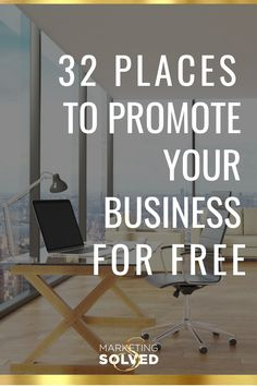 32 Places You Can Promote Your Business For Free - Business Plan - Ideas of Tips On Buying A House - 32 Places You Can Promote Your Business For Free // Marketing Ideas // Where to promote your business // Marketing Solved // Digital Marketing Strategy, Marketing Plan, Inbound Marketing, Affiliate Marketing, Content Marketing, Online Marketing, Media Marketing, Marketing Strategies, Internet Marketing