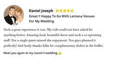 """Our Client """"Daniel Joseph"""" Review"""