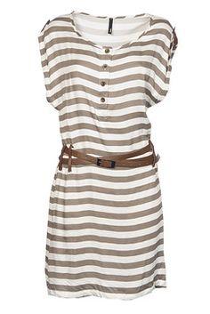 So Nautical Leather Dress