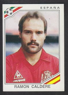PANINI - MEXICO 86 World Cup - # 268 Ramon Caldere - Espana - EUR 4,29. Good condition with original backing paper. For more individual football cigarette/trade cards please visit my eBay shop FOOTBALL STICKERS AND CARDS where a large selection from a number of different sets are available for immediate purchase. Powered by eBay Turbo Lister 303361012703 Fifa, Football Stickers, World Cup, My Ebay, The Selection, Baseball Cards, Number, Shop, Mexico
