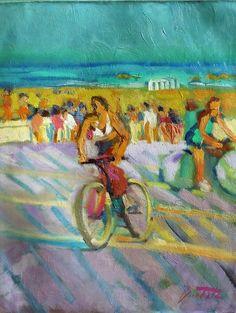 Catawiki pagina online de subastas José Bautista - Jugando con bicicletas