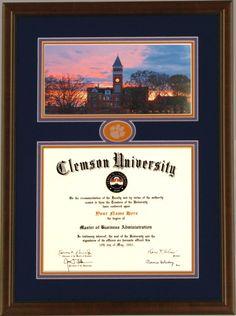 Clemson Graduation Etsy Com Shop Barefootcreationsinc