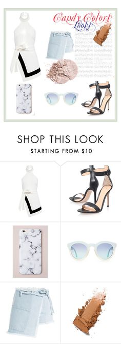"""""""Candy"""" by quianeacza on Polyvore featuring moda, Finders Keepers, Gianvito Rossi e Sandy Liang"""