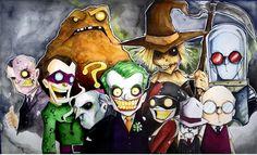 Batman Villains by Chris Uminga