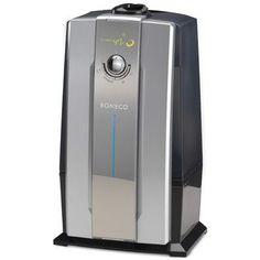 BONECO Warm and Cool 1.5 Gal. Digital Tower Humidifier