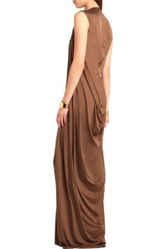 Shop on-sale Rick Owens Silk-jersey maxi dress. Browse other discount designer Dresses & more on The Most Fashionable Fashion Outlet, THE OUTNET.COM