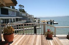 You can sit on your deck in Belvedere and enjoy the unmatched views of the San Francisco cityscape, Bay and Golden Gate Bridge - #belvederecalifornia - #marincounty - www.YourPieceofMarin.com