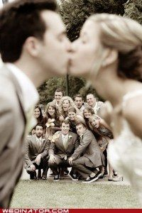 cute wedding pic idea