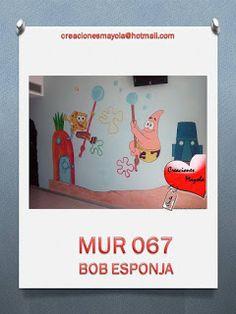 Creaciones Mayola: BOB ESPONJA, DECORACIONES INFANTILES, PINTURA PARE...