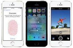 Chromosomes- The chromosomes store DNA  and the iPhone 5S has a finger print scanner that stores your finger print.