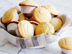 Barefoot Contessa Corn Muffins - she also has a variation where she pipes raspberry preserves into center when cool!