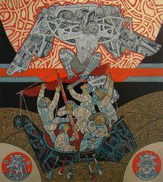 The battle between Kalevala and Pohjola - Igor Baranov 2013 [717 800]
