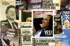 Dix élections américaines à travers les unes de «Libération»