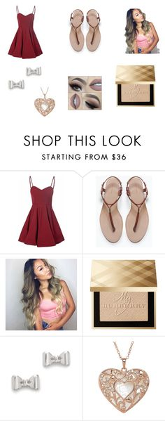 """""""Untitled #9"""" by mgonzalezlopez ❤ liked on Polyvore featuring Glamorous, Zara, Burberry and Marc by Marc Jacobs"""