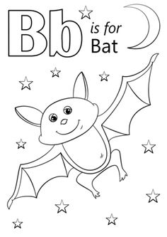 letter coloring pages to teach letters and keep your