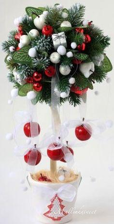 Christmas arts and crafts, christmas activities for kids, christmas craft ideas. Christmas Topiary, Christmas Flowers, Noel Christmas, Christmas Wreaths, Christmas Crafts For Toddlers, Christmas Crafts For Kids To Make, Christmas Projects, Holiday Crafts, Christmas Ideas