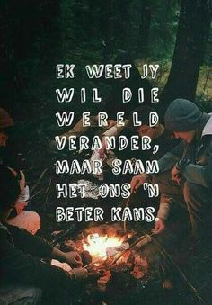 Twee ia beter as een Wisdom Quotes, Me Quotes, Afrikaanse Quotes, Four Letter Words, Qoutes About Love, African Culture, My Land, What Is Love, Love Letters