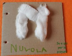 Carboard ABC book: letter N
