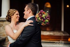 Nicole and Charlie's fall inspired wedding at Laurel Creek Manor in Sumner, Washington photographed by local Seattle Wedding Photographer.