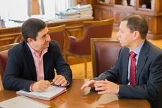 Diputación aborda líneas de colaboración conjuntas con el Parador de Turismo de Jaén