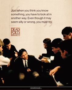 15 Inspiring Dead Poets Society Quotes That'll Remind You Why It's Such An Influential Film The Words, Words To Use, Cool Words, Film Quotes, Poetry Quotes, Words Quotes, Book Quotes, Coffee Quotes, Sayings