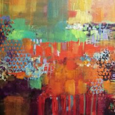 Gillian Cook. Acrylic on Canvas 2015