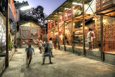 Klong Toey Community Lantern is a Multi-Use Sustainable Social Center in the Heart of Bangkok