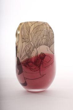 Glass Vessel, My Glass, Glass Art, Design Process, Innovation, Sculptures, Finland, Illustration, Link