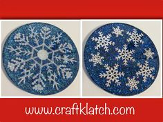 snowflake, snowflakes, coaster, resin, how to, how to use resin, easy cast, craft, crafts, crafting, craftklatch, craft klatch, christmas, w...