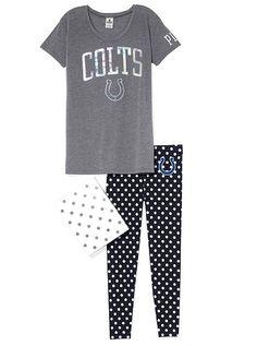Indianapolis Colts Boyfriend Tee & Legging Gift Set