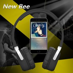 2016 New Sport Wireless Bluetooth Headphones Foldable Portable Headset with Pedometer App Mic NFC Stereo Earphone for Phone PC