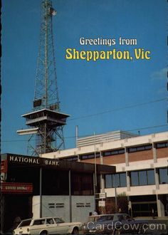 View of the Communications and Tourist Tower Shepparton Australia