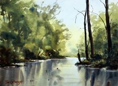 Watercolor paintings by Joe Cartwright :Watercolour Painting