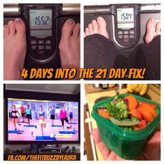 Wow! I woke up to a very pleasant surprise this morning!   I hadn't weighed myself since Monday morning and I woke up this morning to find that I've lost almost 5 pounds this week doing the 21 Day Fix!!   Love these products. Love this company!   Pssst.... It's not too late to get into our 21 Day Fix Test Group that starts for preseason on March 3rd. If you want in, message me today! You can also find me at www.facebook.com/thefitbuzzByLaura