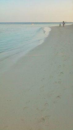 White sandy beach, Maldives