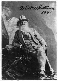 Walt Whitman, 1819-1892. Photoprint by Sarony, 1878. Miscellaneous Items in High Demand, Library of Congress Prints and Photographs Division.