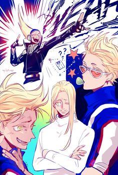 Boku no Hero Academia || Present Mic, #mha
