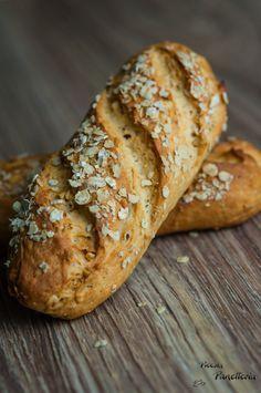 Muesli rolls - just right for Sunday breakfast - Granola - Sandwich Vegan, Sandwich Recipes, Fruit Recipes, Pumpkin Recipes, Healthy Dinner Recipes, Breakfast Recipes, Granola, Muesli Bread, Yeast Bread Recipes