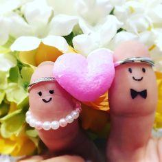 結婚指輪と婚約指輪を使う!『親指フォト』の写真の撮り方   marry[マリー]