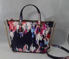 Kate Spade Hazy Floral Saffiano Leather Small Harmony Crossbody Bag $228 New   eBay