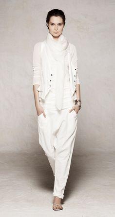 Sarah Pacini. Summer 2012. Total white 2