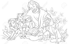 40 Holy People Week Four Sunday School Coloring Pages