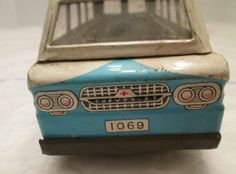 Corvair tin toy